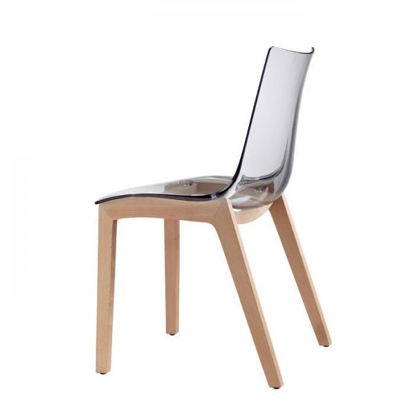 Vendita sedia policarbonato faggio sedie legno for Sedie e poltrone design