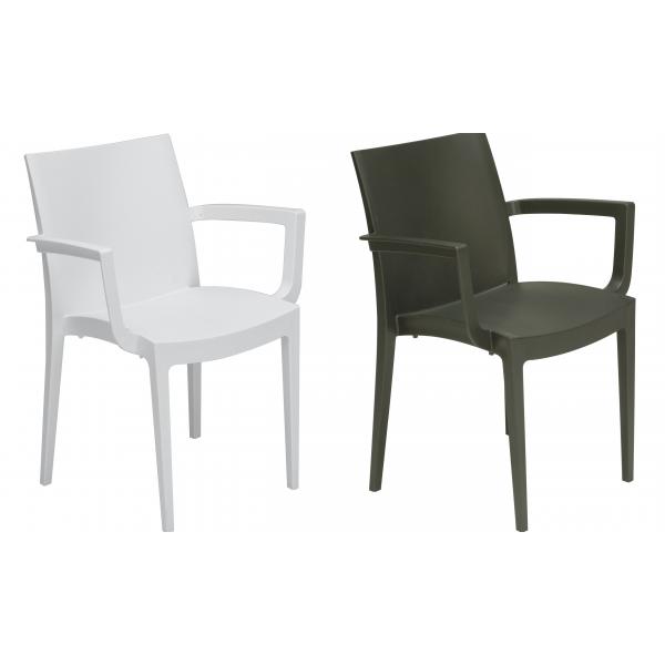 Sedia VENICE CONTRACT bar,sedie polipropilene colorate esterno IMBILABILI,SEDIE giardino OCCASIONE