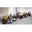 Satida 3 - Scrivania ufficio tre posti