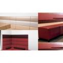 Pannellatura a muro per divani