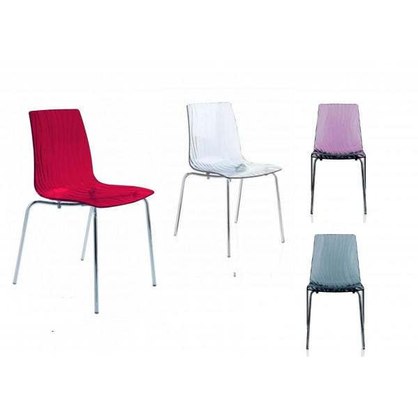 calima sedia impilabile in policarbonato - mondoarreda - Sedie Per Conferenze Usate
