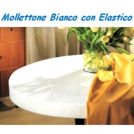 Copritavolo rotondo con elastico colonna porta lavatrice - Mollettone per tavolo ...