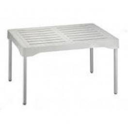 Olly tavolino con gambe in alluminio mondoarreda for Piani domestici moderni 2500 piedi quadrati