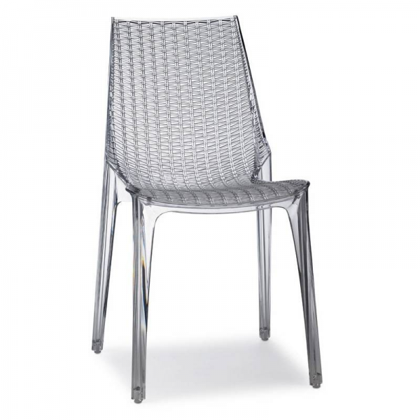 Tricot Chair Sedia Impilabile In Policarbonato Scab Design