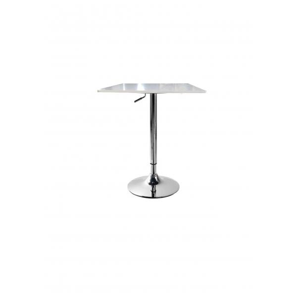 Tavolo saturno rlq alzabile altezza regolabile 90 110 - Tavolo bianco laccato lucido ...