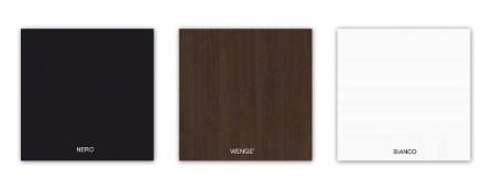 nero wenge bianco - Tavolini quadrati modello Giove Q robusti ed eleganti, ideali per bar, pizzerie, fast food, pub, ristoranti  60 x 60 cm, 70 x 70 cm, 80 x 80 cm, 90 x 90 cm, in legno nobilitato melaminico, ideali per bar, pizzerie, fast food, pub, ristoranti al miglior rapporto prezzo - qualita. Il tavolo puo essere realizzato in colori standard - bianco, bianco lucido, nero, wenge' e tanti altri colori a scelta.