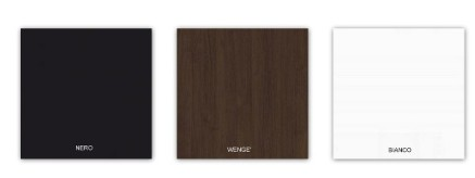 Tavolini neri, tavolini wenge, tavolini bianchi - Tavolini rotondi modello Giove R  H 110 cm  diametro  60 cm, 70 cm, 80 cm, 90 cm, in legno nobilitato melaminico, per bar, pizzerie, alberghi, pub, ristoranti al miglior rapporto prezzo - qualità. Il tavolo può essere realizzato in colori bianco con bordo bianco, nero con bordo nero, wenghé con bordo argento, altri colori legno venato con bordo argento,  altri colori uni con bordo argento. 109,90 € PREZZO SCONTATO IVA INCLUSA