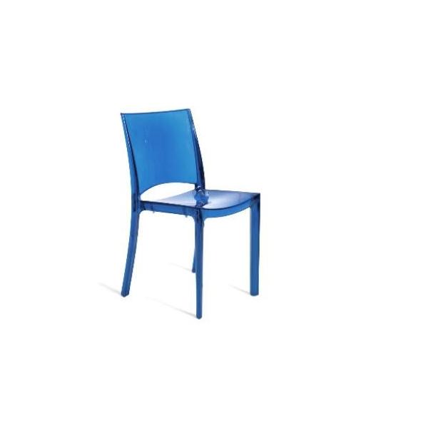 Vendita sedia policarbonato sedie b side impilabili da for Poltrone da ufficio usate