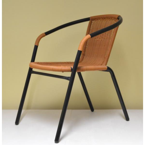 Sedia da esterno giardino bar sedie metallo rattan esterno for Tavoli e sedie da esterno