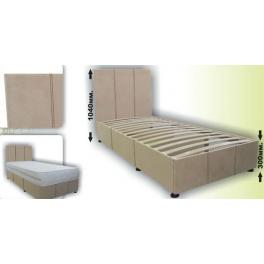 CLASSIC -  letto in rivestimento di tessuto
