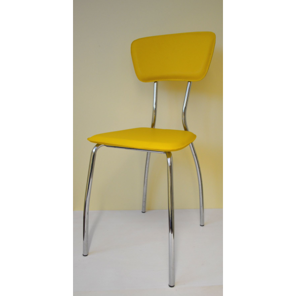 Sedia ecopelle sedie ristorante sedie bar sedia imilabile for Sedie design metallo