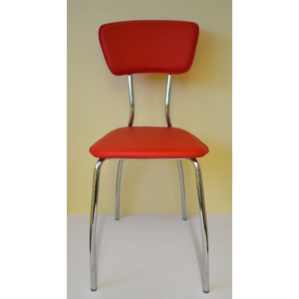 Sedia ecopelle sedie ristorante sedie bar sedia imilabile for Sedie blu cucina