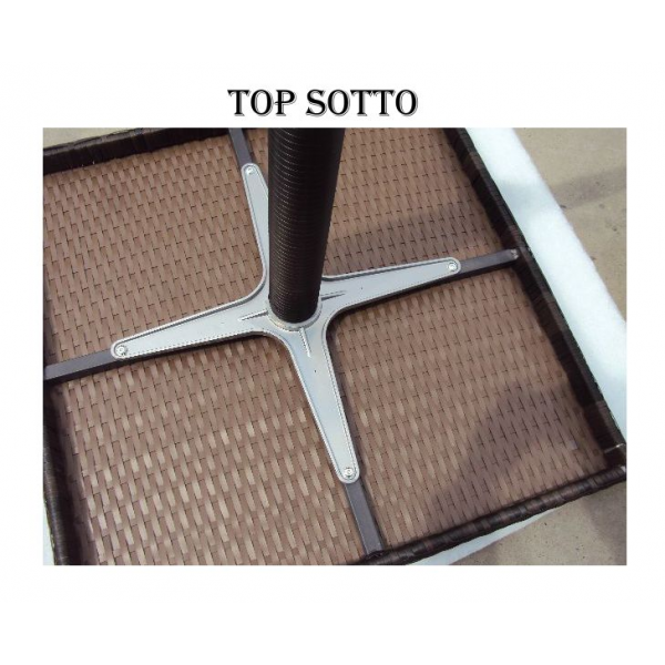 Vendita tavolo contract simil rattan tavoli bar ristorante for Tavoli per ristoranti usati