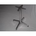 Base in alluminio H 68cm per piani tavoli