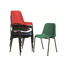 Sedie da esterno sedia colorata sedie impilabili for Sedie attesa ufficio