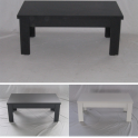 GIOVE 4G - Tavolino caffè  altezza 45cm, piano personalizzabile scelta colori casa, bar, albergo, hotel