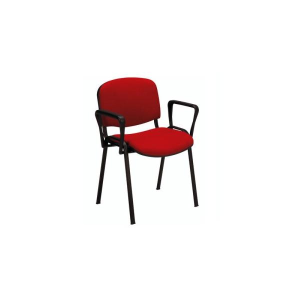 Vendita sedie tessuto metallo sedia ufficio con braccioli for Vendita sedie ufficio