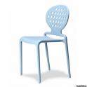COLETTE SPED.GRATUITA - Sedia Impilabile in tecnopolimero rinforzato fibra di vetro SCAB DESIGN