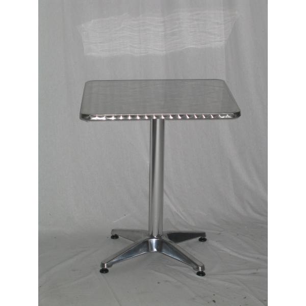 Tavolo in alluminio da bar tavolino per esterno tavolino for Tavolo in alluminio