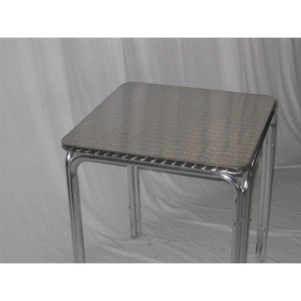 Tavolo in alluminio da bar tavolino per esterno tavolino - Tavolino esterno ...