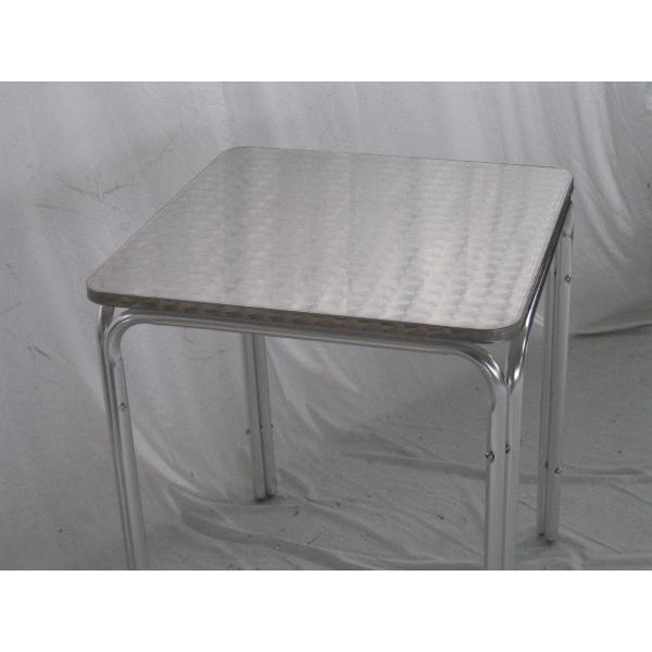Tavolo in alluminio da bar tavolino per esterno tavolino for Piani d ufficio di 1200 piedi quadrati