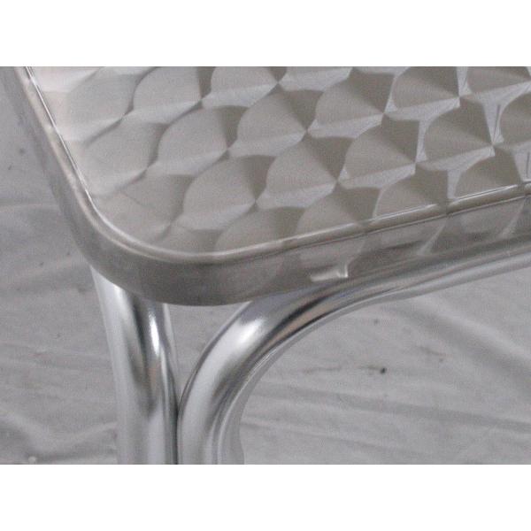 Tavolo in alluminio da bar tavolino per esterno tavolino for Sgabelli colorati