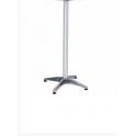 Base in alluminio H.. cm per piani tavoli per bar, ristorante, pub, albergo