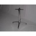 Base pieghevole in alluminio  H 68cm per piani tavoli per bar, ristorante, pub, albergo