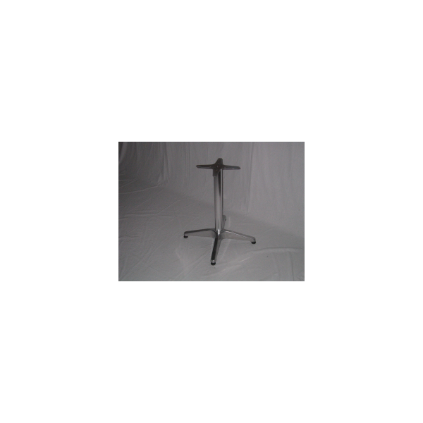 Base pieghevole in alluminio h 68cm per piani tavoli per - Tavoli in alluminio per esterni ...
