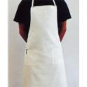 Cuoco Grembiule bianco puro cotone pizzeria, ristorante, bar, bistrot, hotel