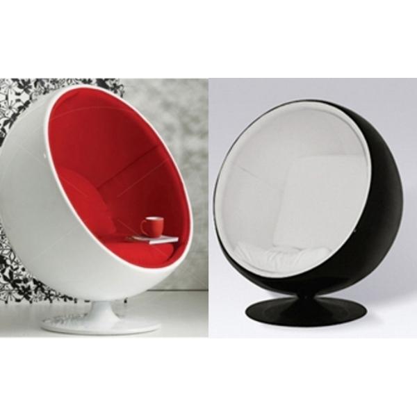 Vendita sedie design fibra di vetro ball chair sedie da for Casa di vetro moderna in vendita