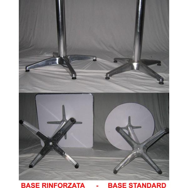 Tavolo in alluminio pieghevole da bar tavolino alluminio - Piedi per tavolo ...