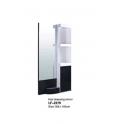 Mobile specchiera centrale ad un posto LF-2379 uso professionale salone parucchiere, studio bellezza