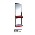 Mobile mensola specchiera centrale ad un posto LF-2305 uso professionale salone parucchiere, studio bellezza