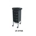 Carrello trolley porta attrezzi professionale LF-3115A per salone parrucchiere, studio bellezza