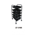 Carrello trolley porta attrezzi professionale LF-3165 per salone parrucchiere, studio bellezza