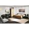 Arredo camera d'albergo matrimoniale in legno nobilitato