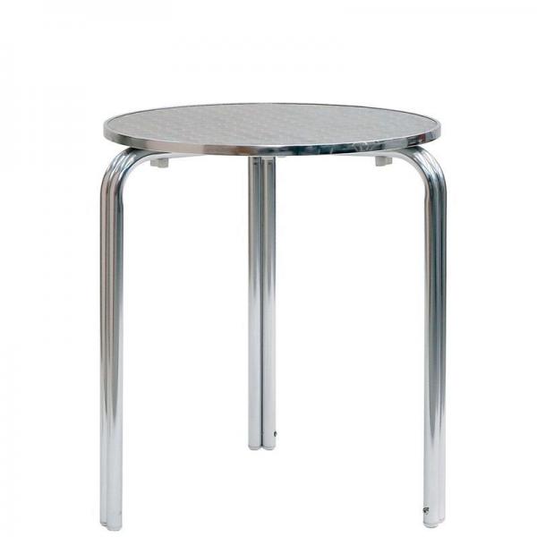 Tavolo in alluminio da bar tavolino per esterno tavolino for Tavoli usati