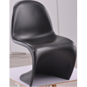 PANTON chair design - sedia simil panton in ABS per esterno ed interno