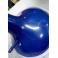 IRIS - Sgabello bar in plastica ABS  gamba cromata per casa, ufficio, bar, ristorante, hotel