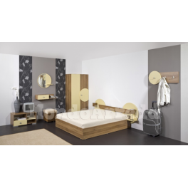 SANTORINI - Arredo camera d'albergo matrimoniale