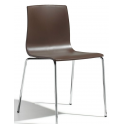ALICE chair SPED.GRATUITA - Sedia contract impilabile scocca tecnopolimero bar hotel SCAB  DESIGN