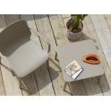 Argo H40 SPEDIZIONE GRATUITA - Tavolino caffè impilabile in tecnopolimero da esterno giardino albergo Scab Design