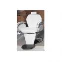 Sedia poltrona parrucchiere barbiere 2° scelta professionale mod.8906 con pompa idraulica per salone parrucchiere