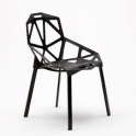 One Chair - Sedia design polipropilene esterno, bar, albergo