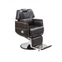 Sedia poltrona parrucchiere barbiere professionale mod.6863 reclinabile, alzabile per salone parrucchiere