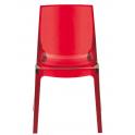 FEMME FATALE - Pila da 16 sedie Grand Soleil Impilabili policarbonato per bar ristorante piscina albergo
