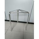 Struttura tavolo in alluminio H70cm a 3 gambe per TOP rotondi diam. 60