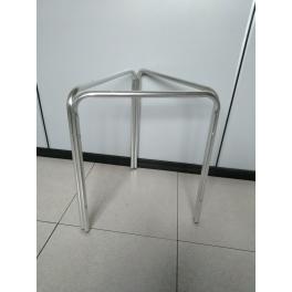 Gambe Per Tavoli In Alluminio.Struttura Tavolo In Alluminio H70cm A 3 Gambe Per Top Rotondi Diam
