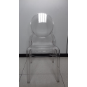 Chantal Chair - Sedia simil Victoria Ghost Impilabile policarbonato trasparente